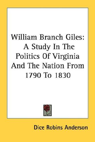 Download William Branch Giles