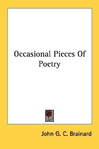 Download Occasional Pieces Of Poetry