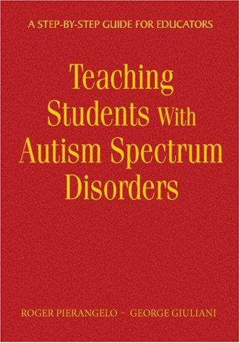 Download Teaching Students With Autism Spectrum Disorders