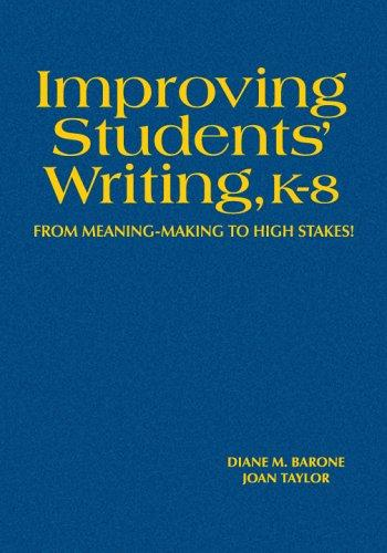 Download Improving Students' Writing, K-8