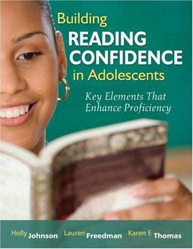 Building Reading Confidence in Adolescents