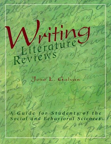 Download Writing Literature Reviews