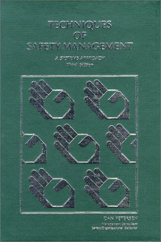 Techniques of safety management