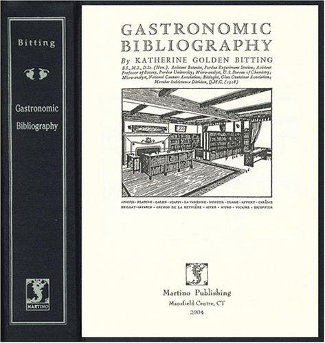 Download Gastronomic bibliography