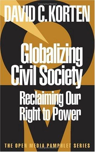 Download Globalizing civil society