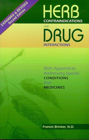 Download Herb contraindications and drug interactions
