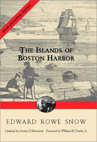 The islands of Boston Harbor