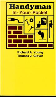 Handyman In-Your-Pocket [Paperback] by Richard Allen Young and Thomas J. Glover