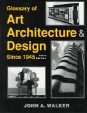 Glossary of art, architecture & design since 1945