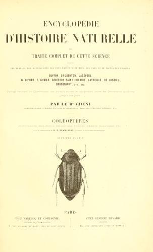 Encyclopédie d'histoire naturelle