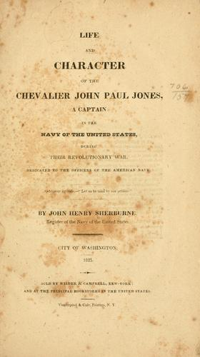 Download Life and character of the Chevalier John Paul Jones