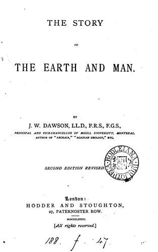 Download The story of the earth and man.