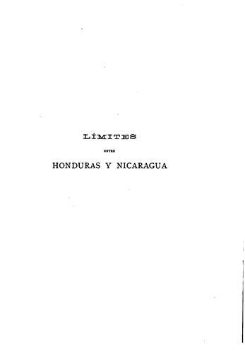 Download Límites entre Honduras y Nicaragua.