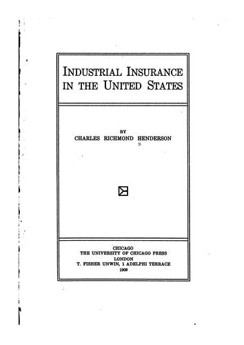 Industrial insurance in the United States