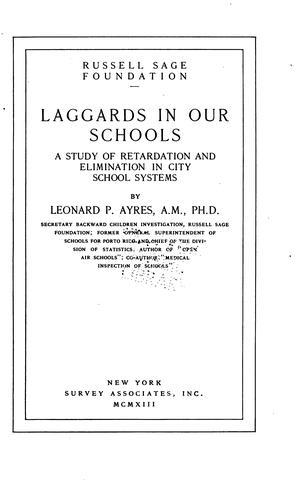 Download Laggards in our schools