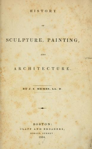History of sculpture, painting, and architecture.