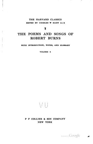 Download The poems and songs of Robert Burns