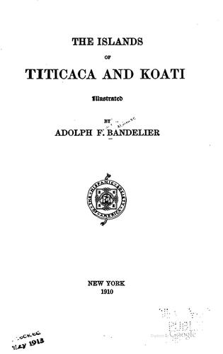 Download The islands of Titicaca and Koati