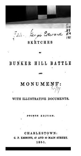 Download Sketches of Bunker Hill battle and monument