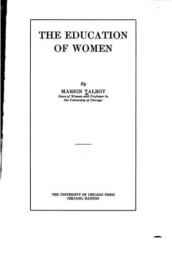 Download The education of women