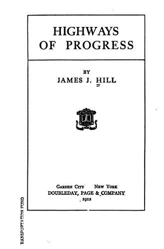 Download Highways of progress