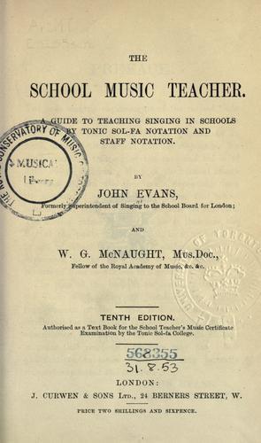 The school music teacher