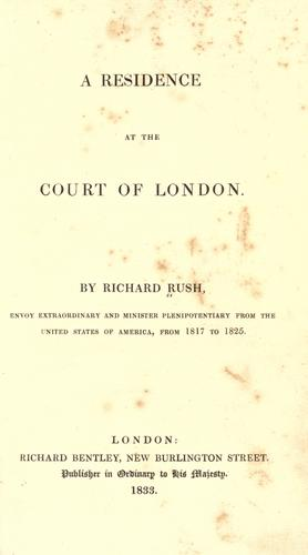 Download A residence at the court of London.
