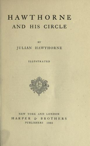 Download Hawthorne and his circle.