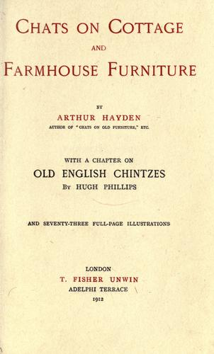 Download Chats on cottage and farmhouse furniture …
