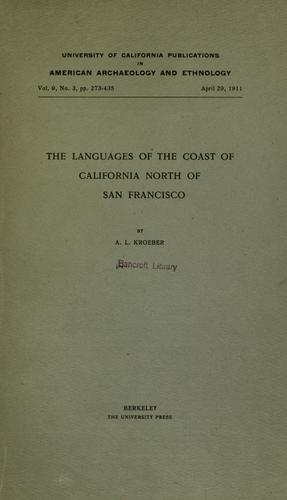Download The languages of the coast of California north of San Francisco