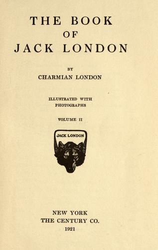 The book of Jack London.
