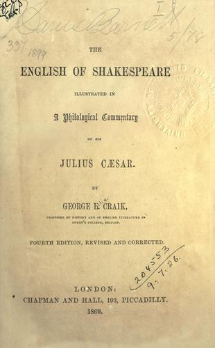 Download The English of Shakespeare illustrated in a philological commentary on his Julius Caesar.