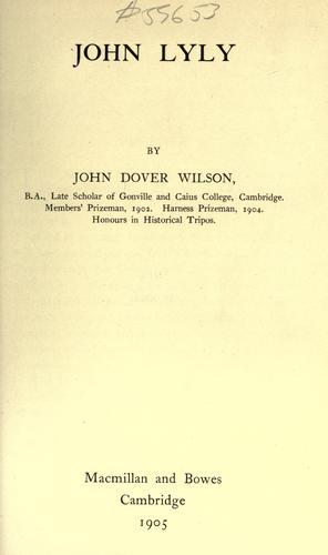 John Lyly