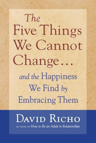 Download The Five Things We Cannot Change
