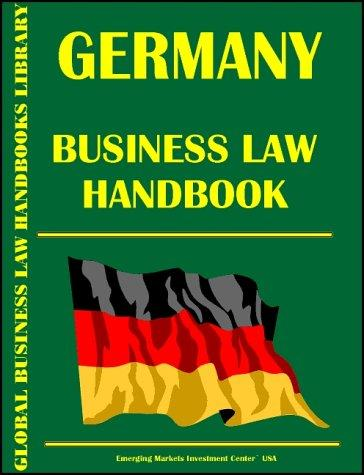 Download Germany Business Law Handbook