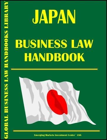Japan Business Law Handbook