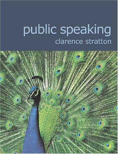 Public Speaking (Large Print Edition)
