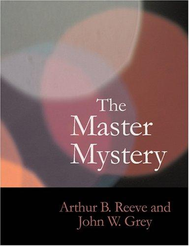 The Master Mystery (Large Print Edition)