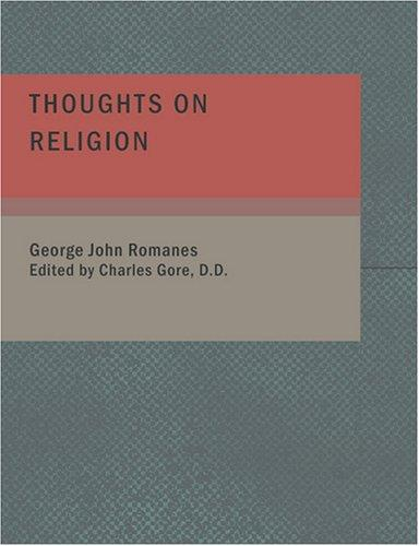 Download Thoughts on Religion (Large Print Edition)
