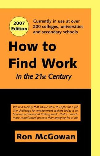 Download How to Find Work in the 21st Century