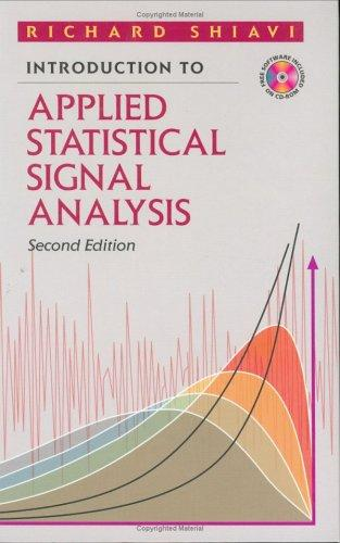 Download Introduction to applied statistical signal analysis