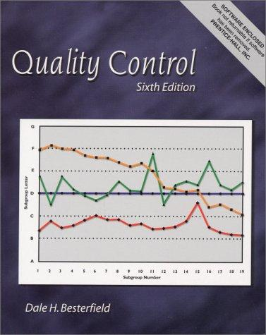 Quality Control (6th Edition)