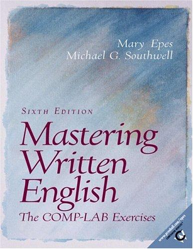 Download Mastering written English