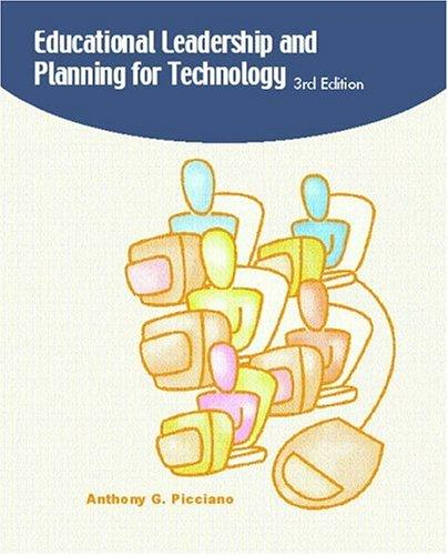 Download Educational leadership and planning for technology