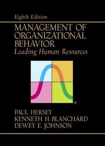 Download Management of Organizational Behavior