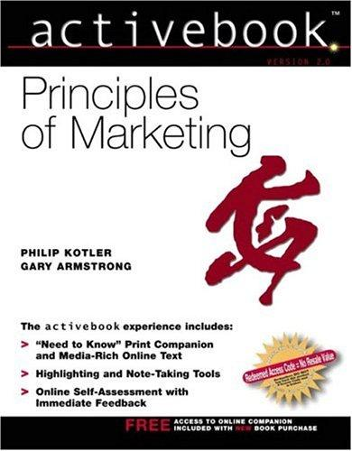 Download Principles of Marketing, Activebook 2.0