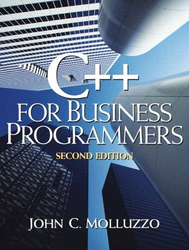 Download C++ for business programming