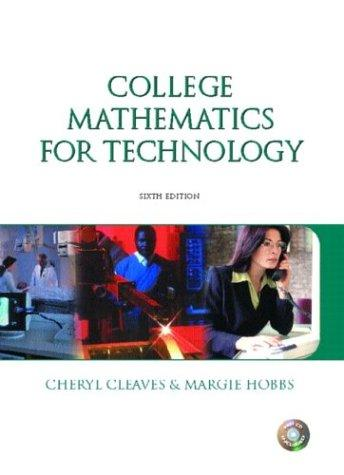 College mathematics for technology.