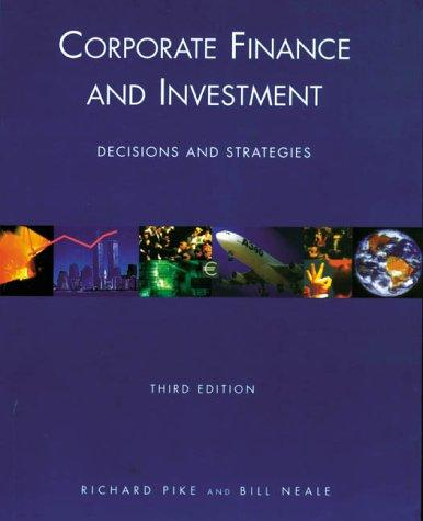 Corporate finance and investment