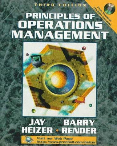Download Principles of operations management
